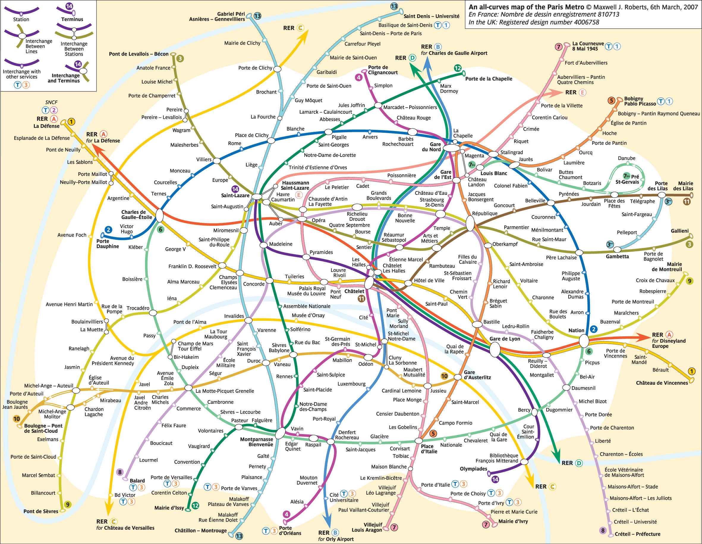 CREATIVE: University Lecturer, Max Roberts … \'The Subway Map ...